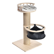 Factory Direct Pet Toys  Particle Board Cat Tree House Scratcher