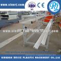 Perfiles plásticos del PVC imitación mármol esquina que hace la línea de máquinas
