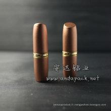 Pot de Tube/rouge à lèvres rouge à lèvres en aluminium