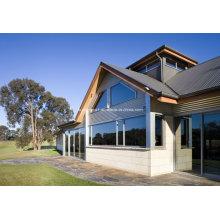 Hyland Luxus-Anwendung Doppel-Glas-Aluminium-Fenster