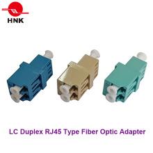 LC Duplex Singlemode / APC Multimode / Om3 / Om4 RJ45 Typ Faseroptikadapter