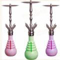 Hot Selling Vidro Colorido Hookah Shisha Vidro Hookah Pipe de fumar