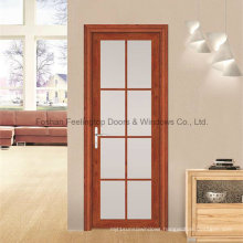Good Quality Double Layer Glass Aluminums Casement Front Door (FT-D80)