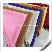 100% Polyester Different Patterns Jacquard Fabric Foldable Cloth Table Napkin