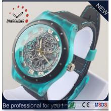 Nouvelle montre-bracelet de montre de bracelet de montre-bracelet de style de silicone (DC-1288)
