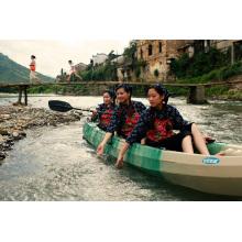 Max 7 People Plastic Sit on Top Trio Team Use Kayak/Canoe