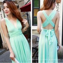 Мода сексуальный пляж платье (FS5812)