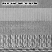 Élément filtrant de cylindre de filtre de treillis métallique fritté