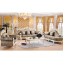 Classic Fabric Sofa with Table for Home Furniture (929N)