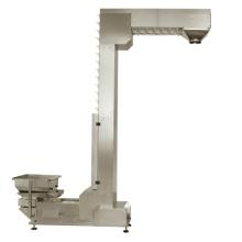 Elevador de cangilones de alta calidad para máquinas empacadoras y pesadores multicabezal
