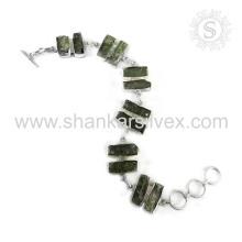 Nueva espléndida joya de piedras preciosas de kyanita 925 joyas de plata esterlina hecho a mano al por mayor de joyería en línea