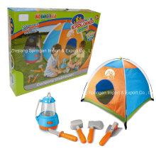 Boutique Playhouse Plastic Toy-Little Explorer Camping Set avec Tente