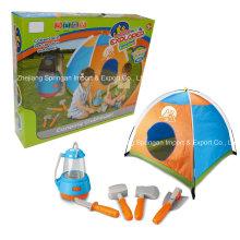 Boutique Spielhaus Plastik Spielzeug-Little Explorer Camping Set mit Zelt