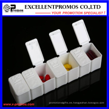 Semanal de alta calidad Logo personalizado Pillbox (EP-028)