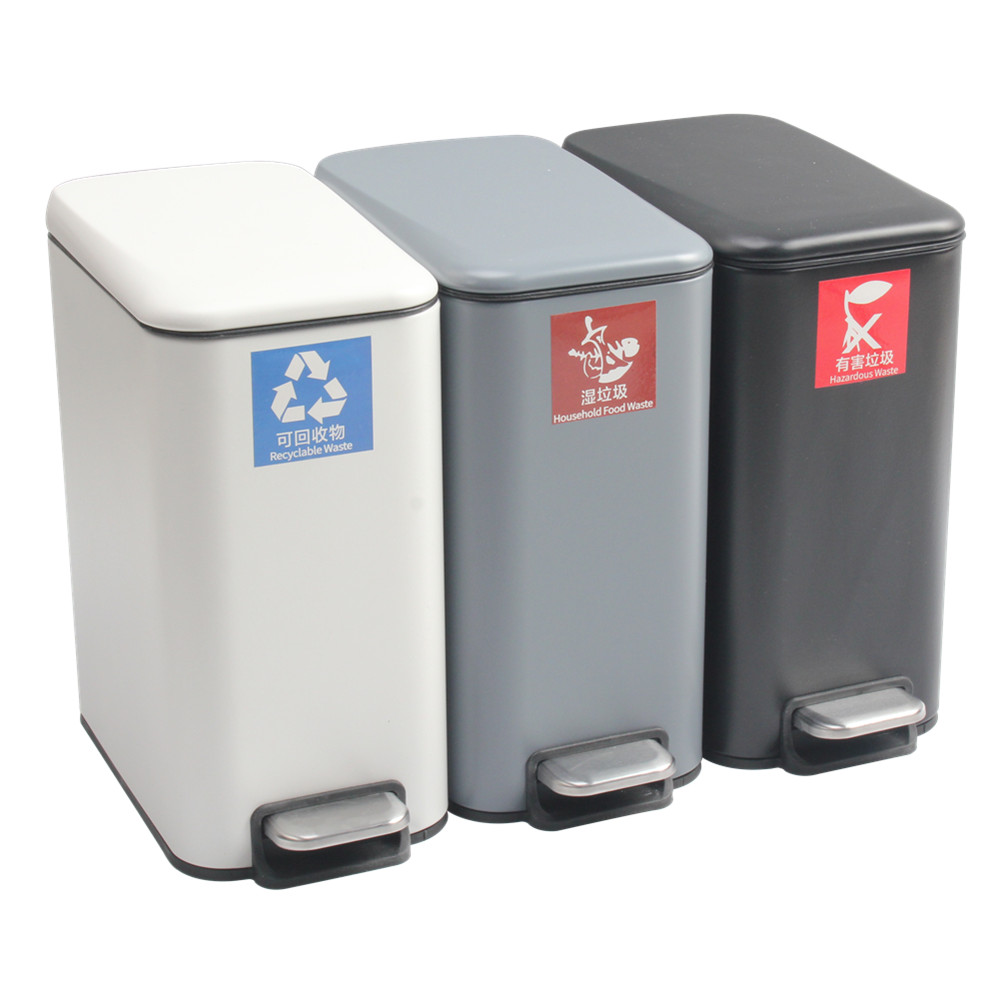 Auto Pedal Sytem Waste Bin For Home