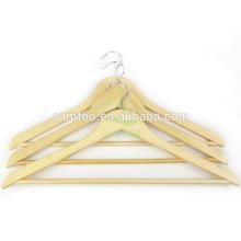 Hotsale billige Holz Kleiderbügel natürliche Kleiderbügel Holz Girlande
