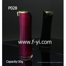 50g vaso de acrílico de moda cilíndrico cosméticos