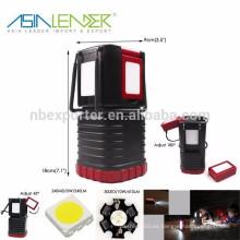 Asia Leader Productos 24SMD + 30LED + 1W 650Lumen Conexión al aire libre linterna de camping multifunción