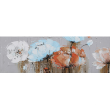 Impressionism Acrylic Flower Oil Painting
