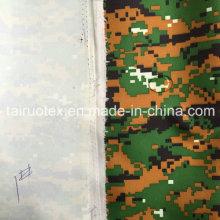 Camouflage Printed Taslon mit PU-Beschichtung für militärische Uniform