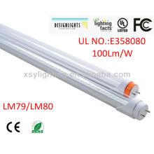 5 años de garantía El CE UL DLC enumeró el ahorro de energía t8 llevó la luz 15w del tubo