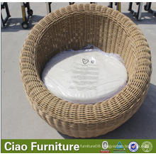Outdoor Furniture Round Rattan Outdoor Daybed