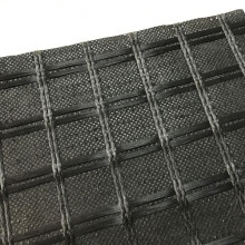 Geocomposite Geotextile مخيط مع Geogrid