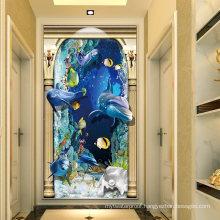 Custom Size Australia Style Villa Decorative Wall Tile 3D