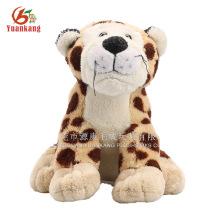 Brinquedos feitos sob encomenda do tigre de China do OEM, peluche de O Tigre, leopardo enchido
