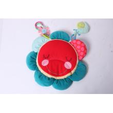 Novo Design Hedgehog Flower Mat bebê brinquedo