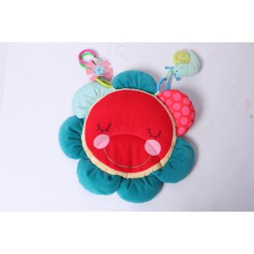 Nuevo diseño Hedgehog Flower Mat bebé juguete
