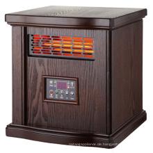 IH-1508D beliebte Art Holzschrank Infrarot-Quarzrohr elektrische Raumheizungen