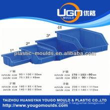 Moule en plastique pour conteneur de batterie moule en mousse pour contenants alimentaires à compartiments multiples yougo