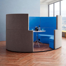High Quality Customized Booth Seating with Fabric Cover Perfect for Home Use