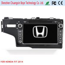 Car Central DVD GPS Multimedia Player for Honda Fit 2014