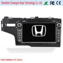 Carro Central DVD GPS Player Multimédia para Honda Fit 2014