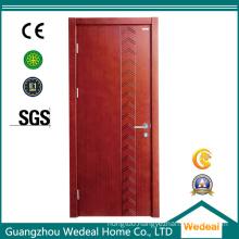 Flush Wooden Veneer MDF/HDF Solid Core Interior Door