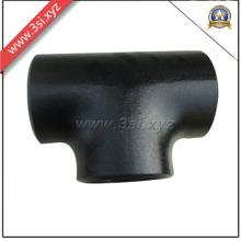 ANSI B 16.9 CS A234 / A105 Tee-shirt noir sans couture (YZF-E351)