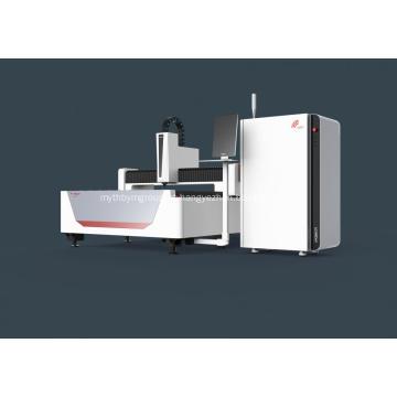 Dispositivo de corte a laser de fibra de metal para máquinas de engenharia