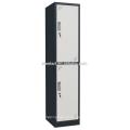 Pó revestido seis compartimentos de aço Locker / Metal Locker