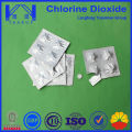 Chlorine Dioxide Tablet for water purified/Antiseptic disinfectant sterilization agent decoloring agent odor removeMade in China