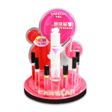 Akryl Makeup Läppstift Counter Nagellack Display Stand