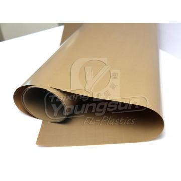 Hign Temperature Resist Non stick PTFE Fabric
