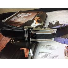 Cintos de couro com fivela automática (HC-150405)