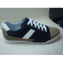 Fashion Leather Lace Mens Casual Shoes (NX 508)