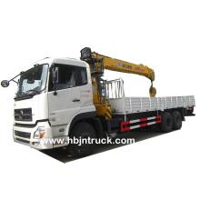12 Ton Stiff Boom Crane Mounted on Truck