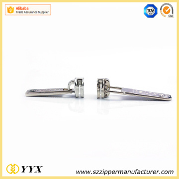 Zinc alloy strong replacement zipper pull zipper slider