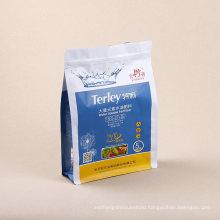Qingdao Factory Composite Film PP PE HDPE Pet VMPET Three Side Sealing Self Sealing Pet Food Bag
