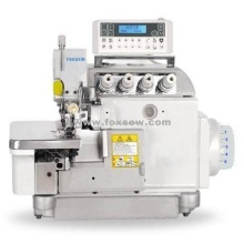 Computergesteuerte Overlock-Nähmaschine mit Direktantrieb und automatischem Trimmer