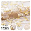 Made in China Diferentes tipos de tecido decorativo macio saree bordado